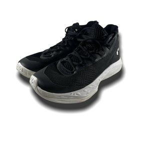 Under Armour Mens Black Basketball Shoes Size 8.5